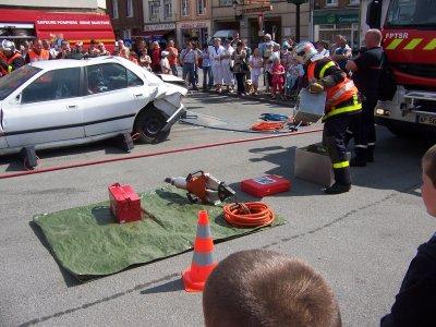 Manoeuvre pompier