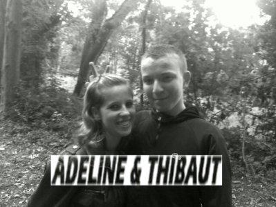 Moi et adeline !!!
