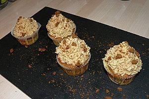 Cupcakes aux speculoos !!!