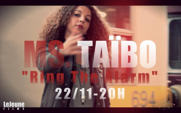"Ms.Taïbo - ""Ring The Alarm""  (2012)"