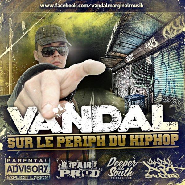 Vandal sur le pe�riph du hip hop