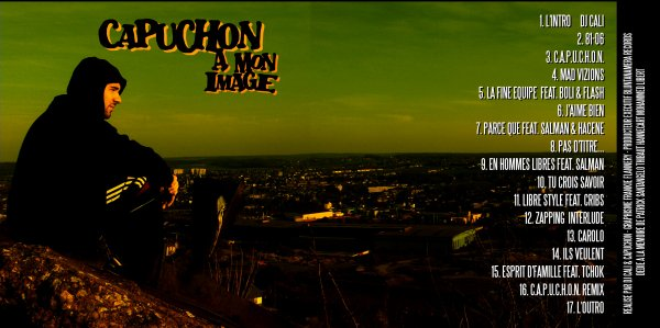 capuchon street cd - A mon image ( mars 2007 )