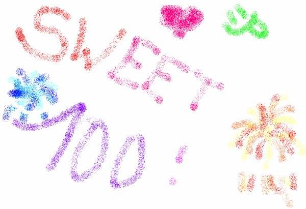 sweet 100eme !!!!!!!