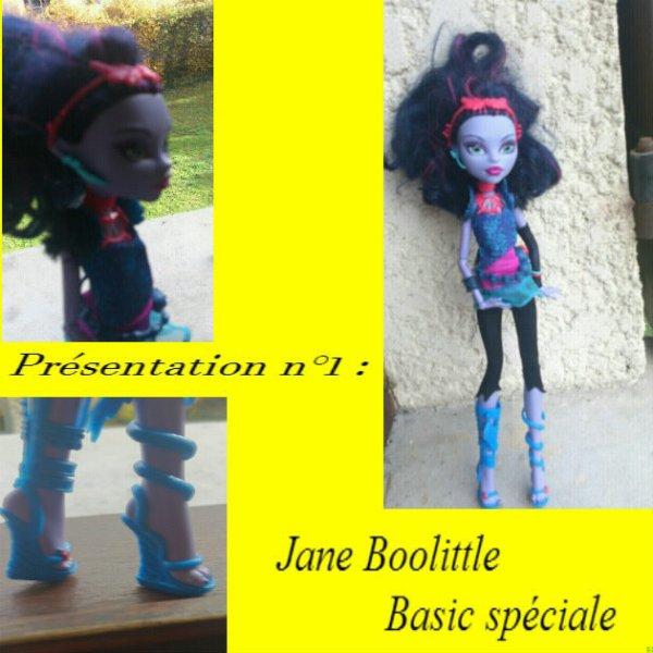 Présentation n°1 : Jane Boolittle