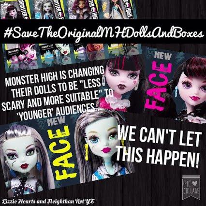 Urgent partage si tu aimes Monster High !!!!