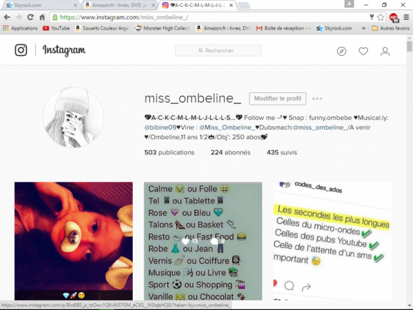 Follow me on Instagram ♥