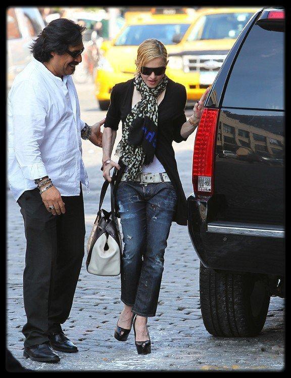 Madonna à New York le 30 Mai 2013 / Mariah Carey : elle quitte American Idol et annonce une tournée mondiale !
