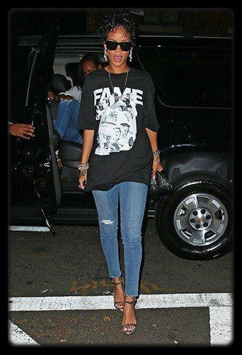 Katy Perry à 12 Août 2013 / Rihanna à New York le 12 Août 2013 / Lady Gaga à LA le 12 Août 2013 /  Nicki Minaj qui part en boite avec Birdman (Video) / Miley Cyrus Rappe sur du French Montana (Video)