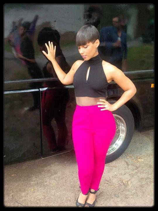 Alicia Keys et sa nouvelle coupe