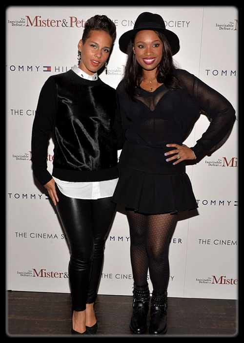 Alicia Keys et Jennifer Hudson à l'avant première de The Inevitable Defeat of Mister & Peete (Photo) / T.I. pour Upscale Magazine. (Photo) / Naya Rivera : l'actrice de Glee s'est fiancée à son rappeur adoré Big Sean ! / WAKA FLOCKA FLAME – From Roaches To Rolex (Mixtape) / Selena Gomez hier à L.A. (Photo) / Miley  Cyrus pour Terry Richardson (Photo)