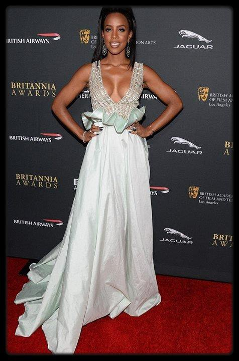 Kelly Rowland à la soirée BAFTA Los Angeles Jaguar Britannia Awards hier (PHOTO) / Alizée prépare un nouvel album
