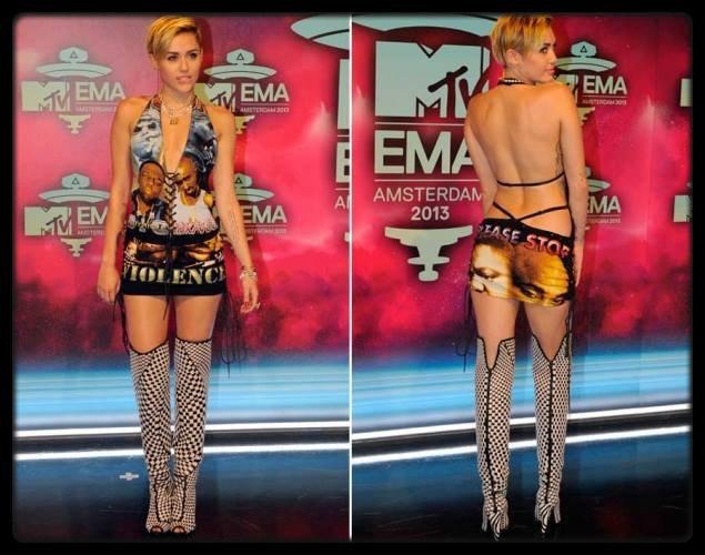 """Miley Cyrus lors de la cérémonie des MTV EMA  / Iggy Azalea lors des MTV Europe Music Awards au Ziggo Dome à Amsterdam, le 10 novembre 2013 / Beyoncé Knowles chantait """"Home"""" à 7 ans lors des Slammy Awards à Houston (VIDEO) / Lady Gaga lors de la soirée spéciale pour la sortie de Artpop / Rita Ora pour Next Libération / Rihanna aperçue récemment à New York / Le Brésil porte plainte contre Justin Bieber pour vandalisme / Kanye West et Kim Kardashian veulent un mariage grandiose / Robbie Williams regrette d'avoir choisi Geri Halliwell au lieu de Victoria !"""