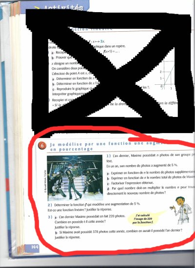 Tokio Hotel sont partout meme dans les livres de maths  XD