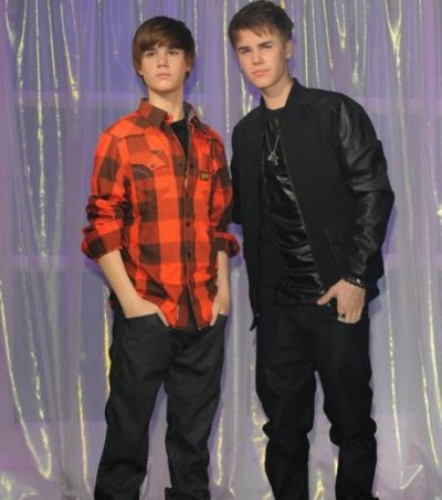 Justin bieber a son double chez madame tussaud en angletterre !