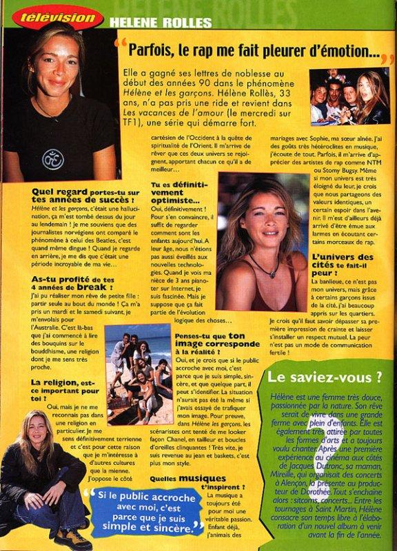 Hélène Rolles : interview