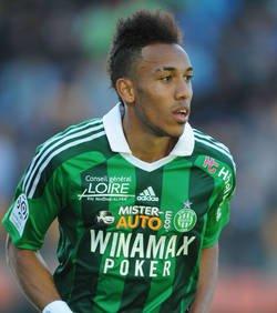 Pierre Emerick Aubameyang, le joueur le plus performant de cette saison à St-Etienne !
