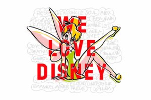 "J-1 "" We Love Disney """