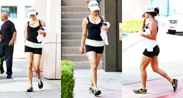 30/08/2012 - Vanessa a été vue se rendant à son cours de gym, à North Hollywood. Top ou Flop?