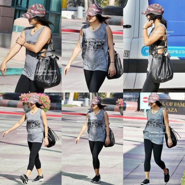16/09/2012 - Vanessa a été vue se rendant à son cours de yoga, à Studio City. Top ou Flop ?