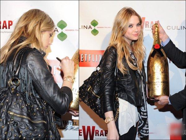 . 23/02/11 Notre Jolie Ashley Benson était présente a la celebration. . . « Wrap's Award Season » elle était dans le luxueux hôtel « Four Seasons » à Beverly Hills TOP ou FLOP .