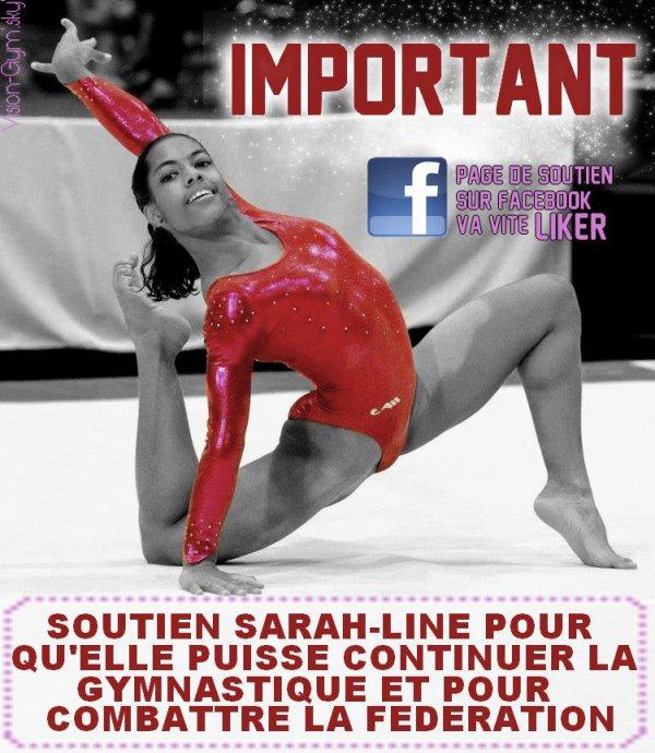 Sarah Line Errin à besoins de votre soutient !!!
