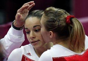 Classement des gymnastes 16 ans et + 2012