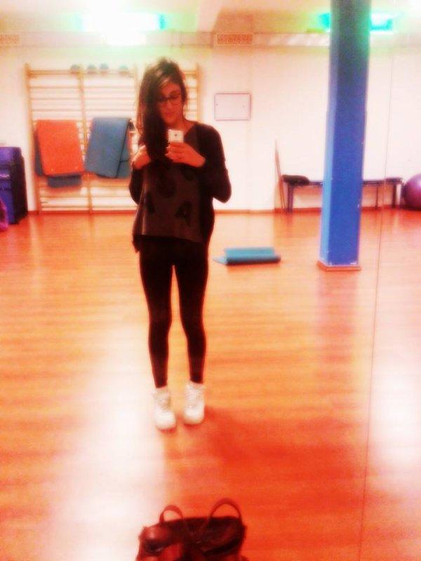 La salle de sport, il faut bien de temps en temps :)