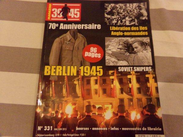 magazine 39-45      70e aniversaire prix 5 euros plus frais de ports