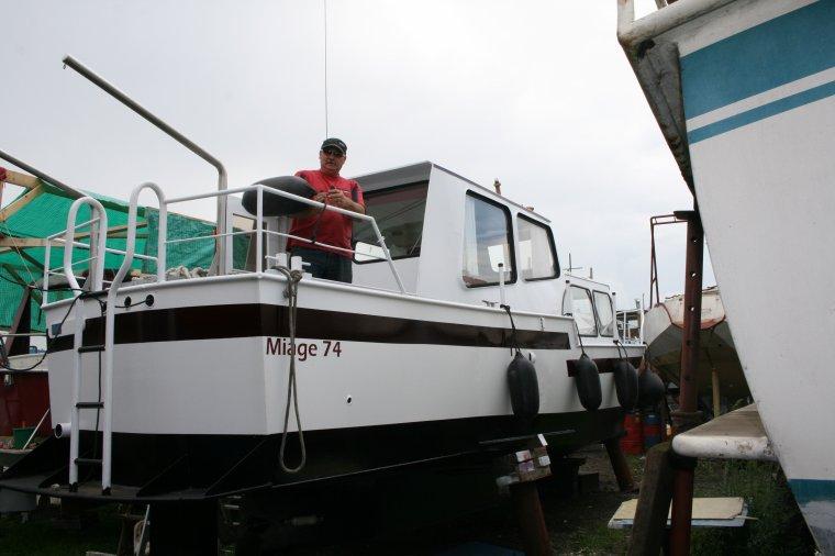 1.Le bateau