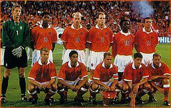 Joueur equipe pays bas 1998 - Joueur coupe du monde 98 ...