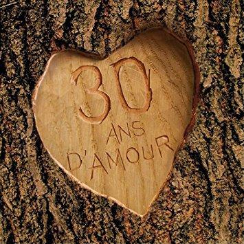 30 ans que je t'aime !