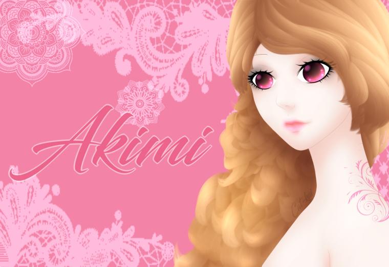 présentation de personnage: Akimi