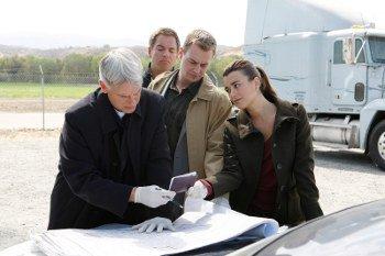 Gibbs avec Tony, Ziva et McGee