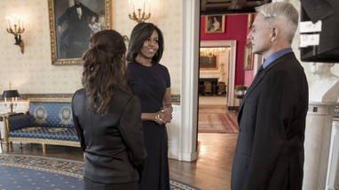 Michelle Obama et Gibbs