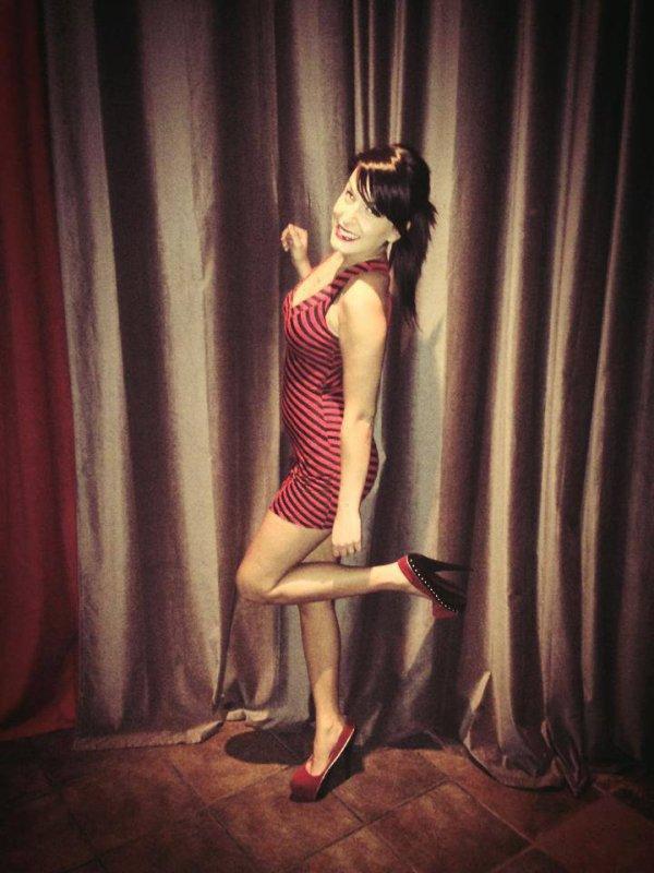 moi avec petite robe ^^