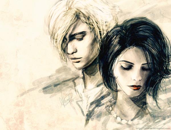 Magnifique dessin d'Alice et Jasper, chapeau à l'artiste !