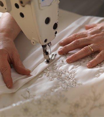 Rendez-vous retouches robe de mariée
