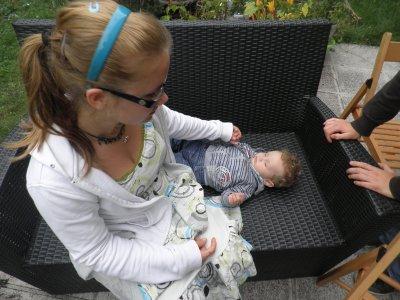 Evan et ma cous Gabrielle