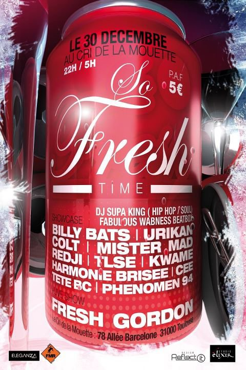 "Soirée "" SO FRESH TIME """