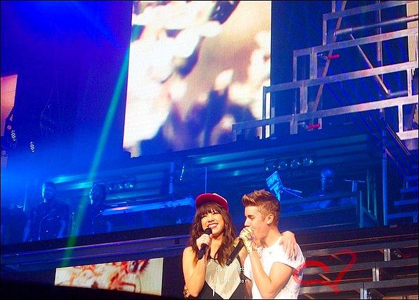 06/10/2012 :  Les 5 et 6 Octobre, Justin donnait un concert pour le Believe Tour.