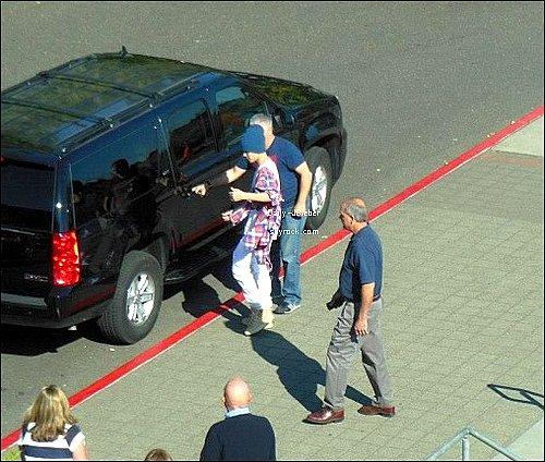 09/10/2012 :  Justin Bieber sur la route du Believe Tour, à Tacoma.