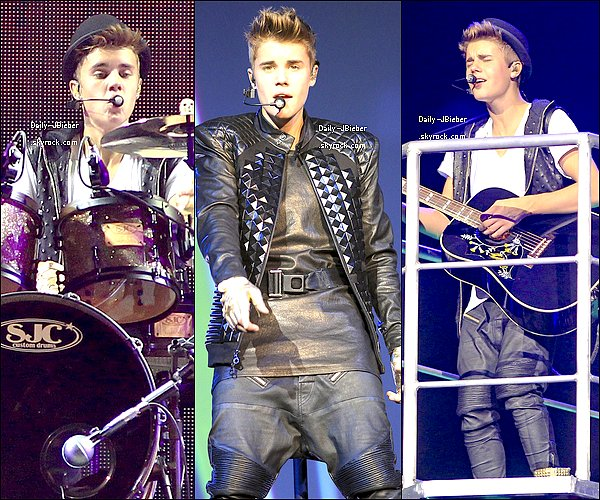 .   18/10/2012 :  Justin Bieber s'est rendu à Winnipeg, au Canada pour le Believe Tour.