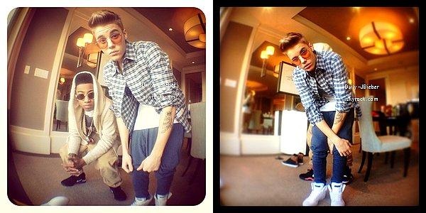 18/12/2012 :  Découvre le bétisier de la pub du parfum Girlfriend par Justin Bieber. Hahaha !