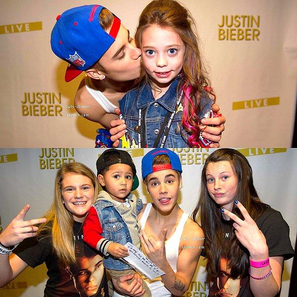 10/01/2013 :  Justin Bieber était à North Little Rock aux Etats-Unis pour le Believe Tour.