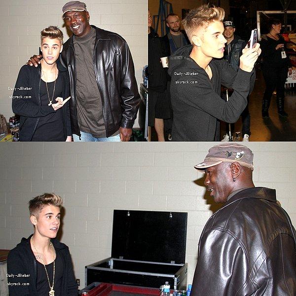 23/01/2013 :  Justin Bieber était à Atlanta pour un concert du Believe Tour.