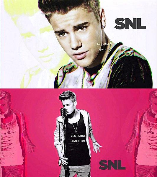 09/02/2013 :  Justin a participé à l'émission Saturday Night Live (SNL) où il a fait des sketchs et performé.