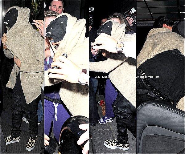 02/03/2013 :  Justin Bieber était de concert pour le Believe Tour à Nottingham, Royaume-Uni.