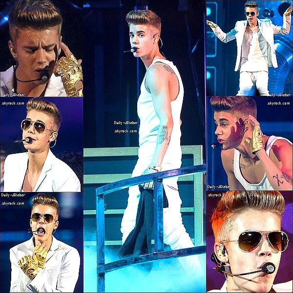 11/03/2013 :  Justin Bieber a donné un nouveau concert pour le Believe Tour à Lisbonne, Portugal.