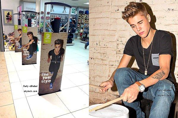 23/03/2013 :  Justin Bieber s'est rendu à Bologne en Italie, dans le cadre de sa tournée mondiale. (MQ)