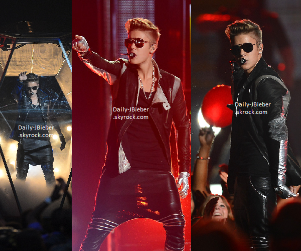19/05/2013 :   Justin Bieber a mis le feu aux Billboards ! Il a interprété That Power et Take you. TOP ! Miley Cyrus a été interviewée sur le tapis rouge de la cérémonie où on lui a posé la question d'une éventuelle collaboration avec Ju'...